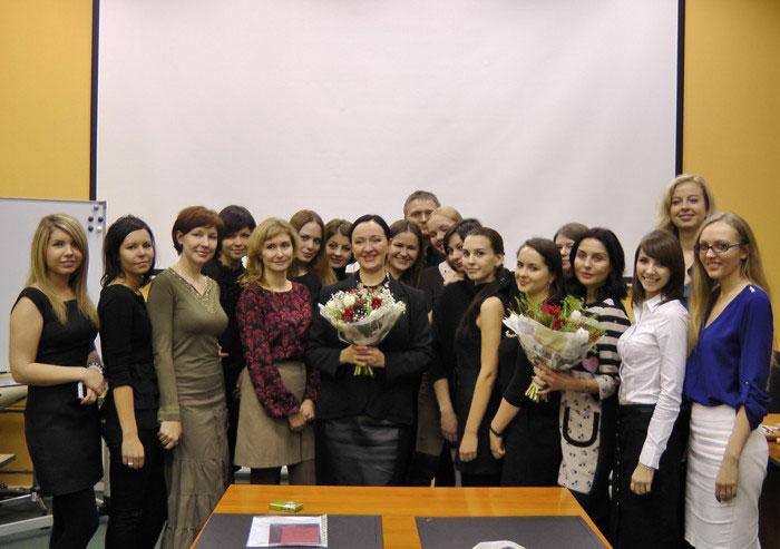 Фото группы курса Аравийской по косметологии