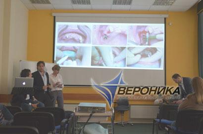 Семинар по стоматологии учебного центра в Петербурге
