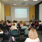 Лекции студентов в аудитории